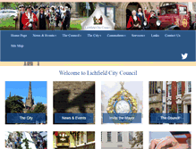 Tablet Preview of lichfield.gov.uk
